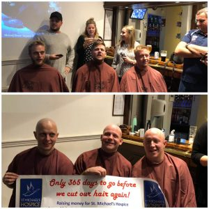 Fundraising for St Michael's Hospice